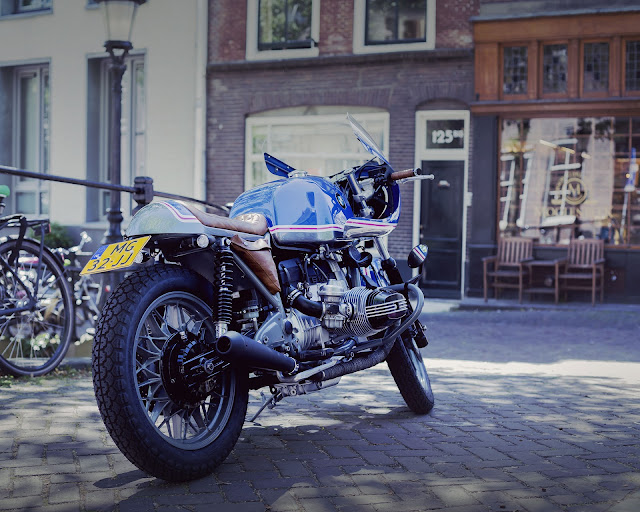 BMW R100 By Wrench Kings Hell Kustom