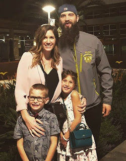 Brent Burns Family