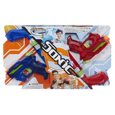 Súng Nerf Sonic Ice và Sonic Fire Hàng Độc Quyền Toys R Us