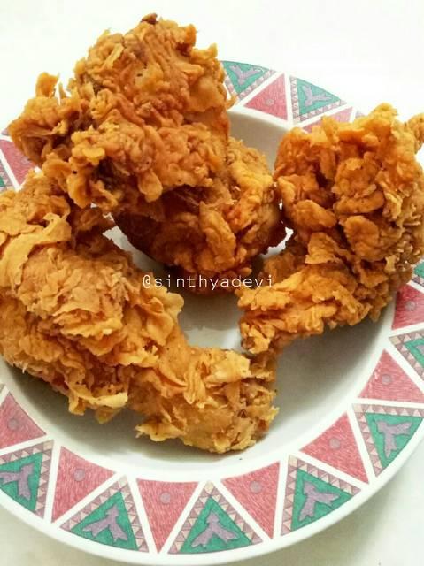 Cara Membuat Ayam Kentucky : membuat, kentucky, Resep, Crispy, Renyah, Tahan