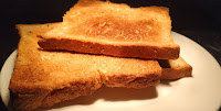 Toasted brown bread for veg club sandwich recipe