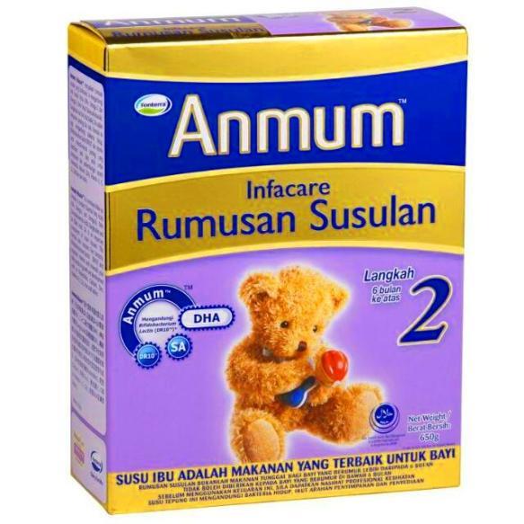 Susu anmum infacare step 2