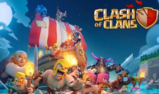 Game Smartphone - Clash of Clans
