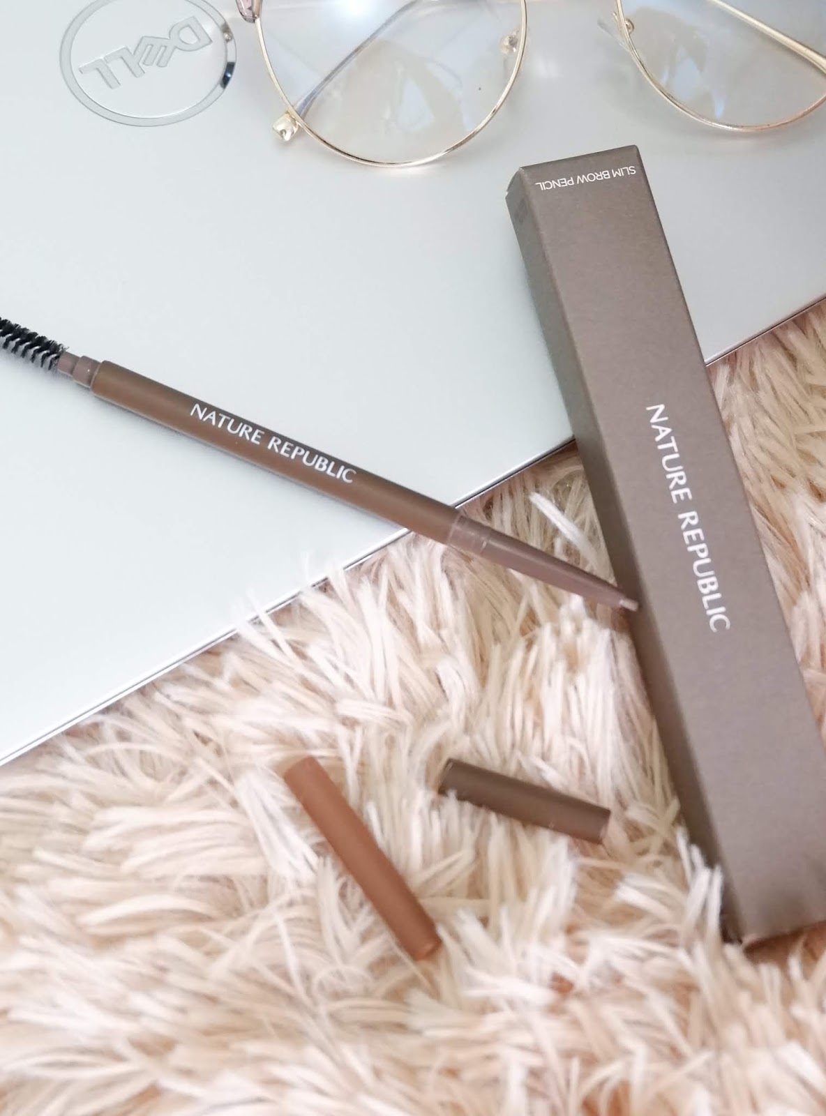 NATURE REPUBLIC MICRO SLIM BROW PENCIL (03 SOFT BROWN)