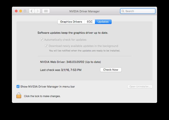 Hackintosh NVIDIA Web Driver Tutorial