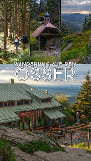 Künischer Grenzweg auf den Osser Wanderweg La1 im Lamer Winkel Wandern im Bayerischen Wald 31
