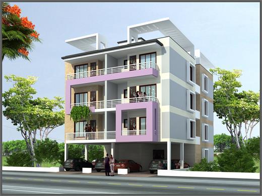 Dhankawadi Pune Residential Building Design