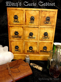 Witch's Curio Cabinet from Reclaiming the Witch )0(