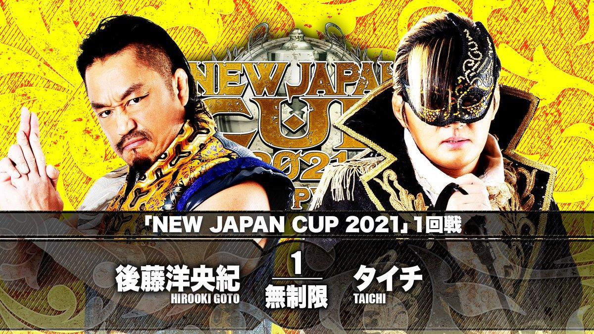 Cobertura: NJPW New Japan Cup 2021 – Day 01 – Em busca de desafios!