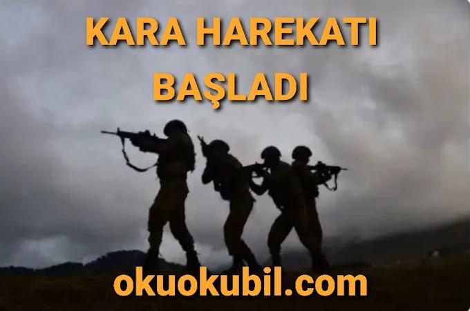 Kara harekatı Başladı Askerlerimiz Suriye Topraklarında ( Barış Pınarı )
