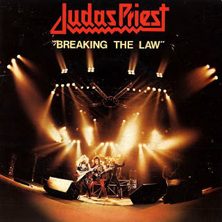 "Το single των Judas Priest ""Breaking the Law"""