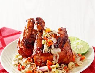 ayam bakar sambal matah