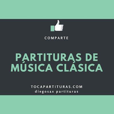 Suite para Orquesta Nº 3 Aria de J.S. Bach Partituras para Pequeña Banda de Música o Pequeña Orquesta de Cuerda Partitura de Flauta Travesera, Oboe, Violín, Saxo Alto, Saxofón Soprano y Tenor, Trompeta, Fliscorno, Trompa, Chelo, Contrabajo, Percusión, Trombón, Caja o Tambor, Fagot...