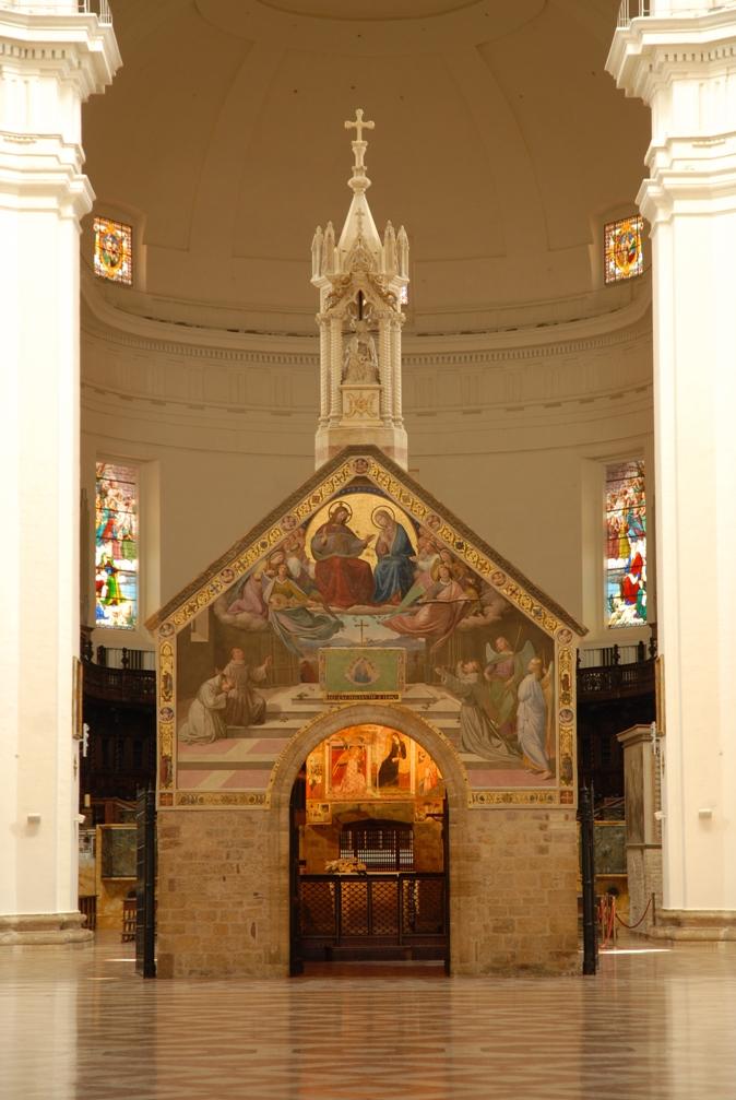 Basílica de Santa Maria dos Anjos e Porciúncula - Assis