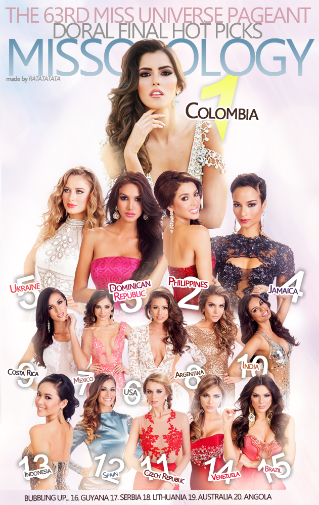 Miss Universe 2015 Coronation Night Live Streaming Online