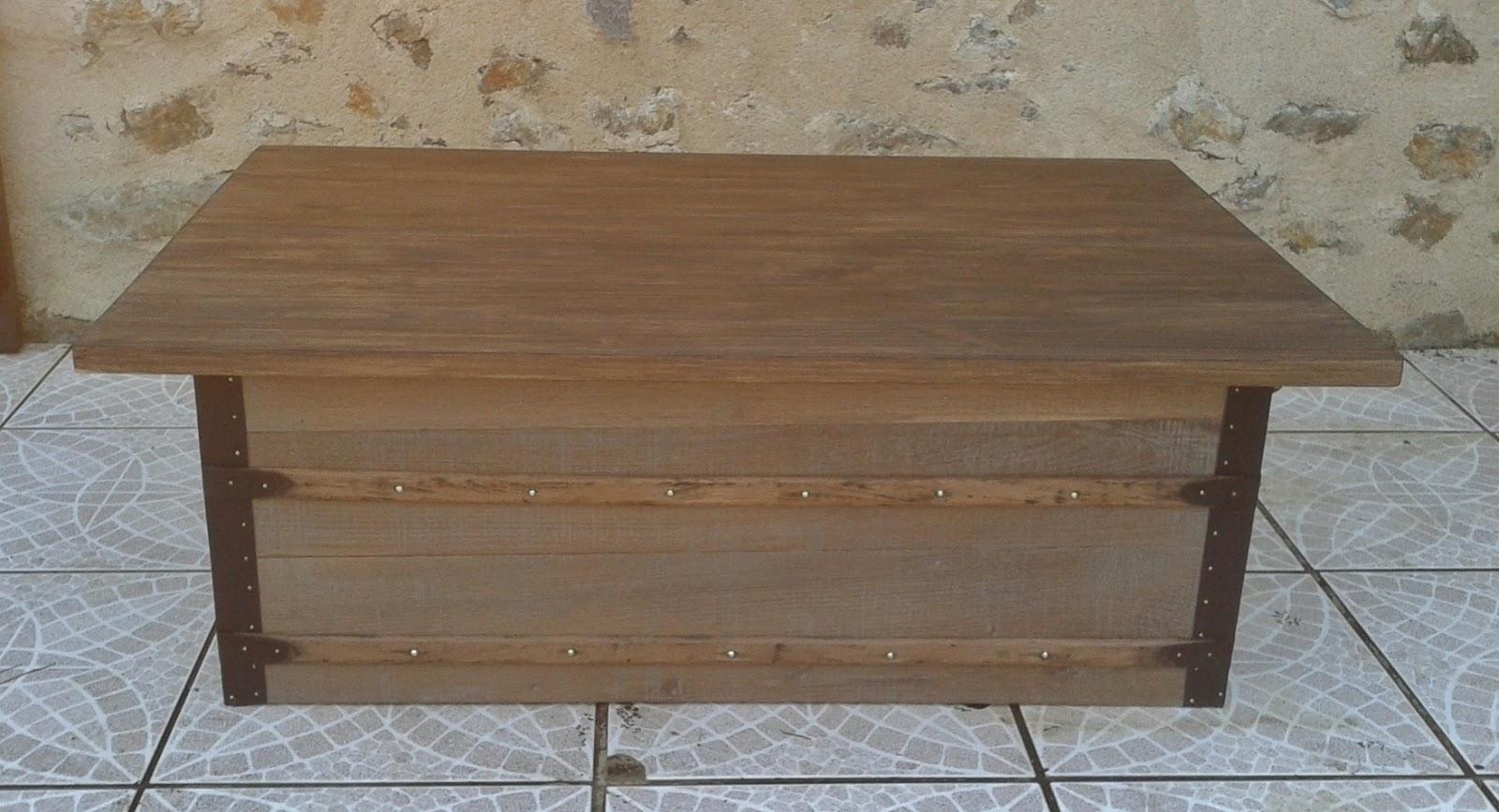 o 39 bois recycl table basse r alis e partir d 39 un. Black Bedroom Furniture Sets. Home Design Ideas