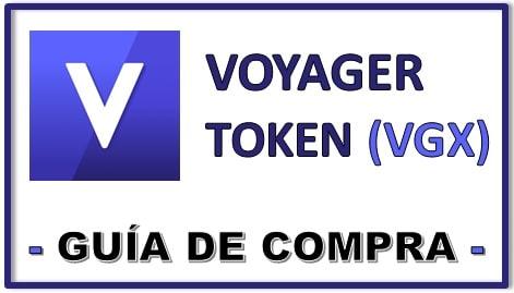 Cómo y Dónde Comprar Criptomoneda Voyager Token VGX COIN