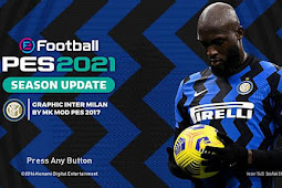 Inter Milan Graphic Menu 2021 - PES 2017