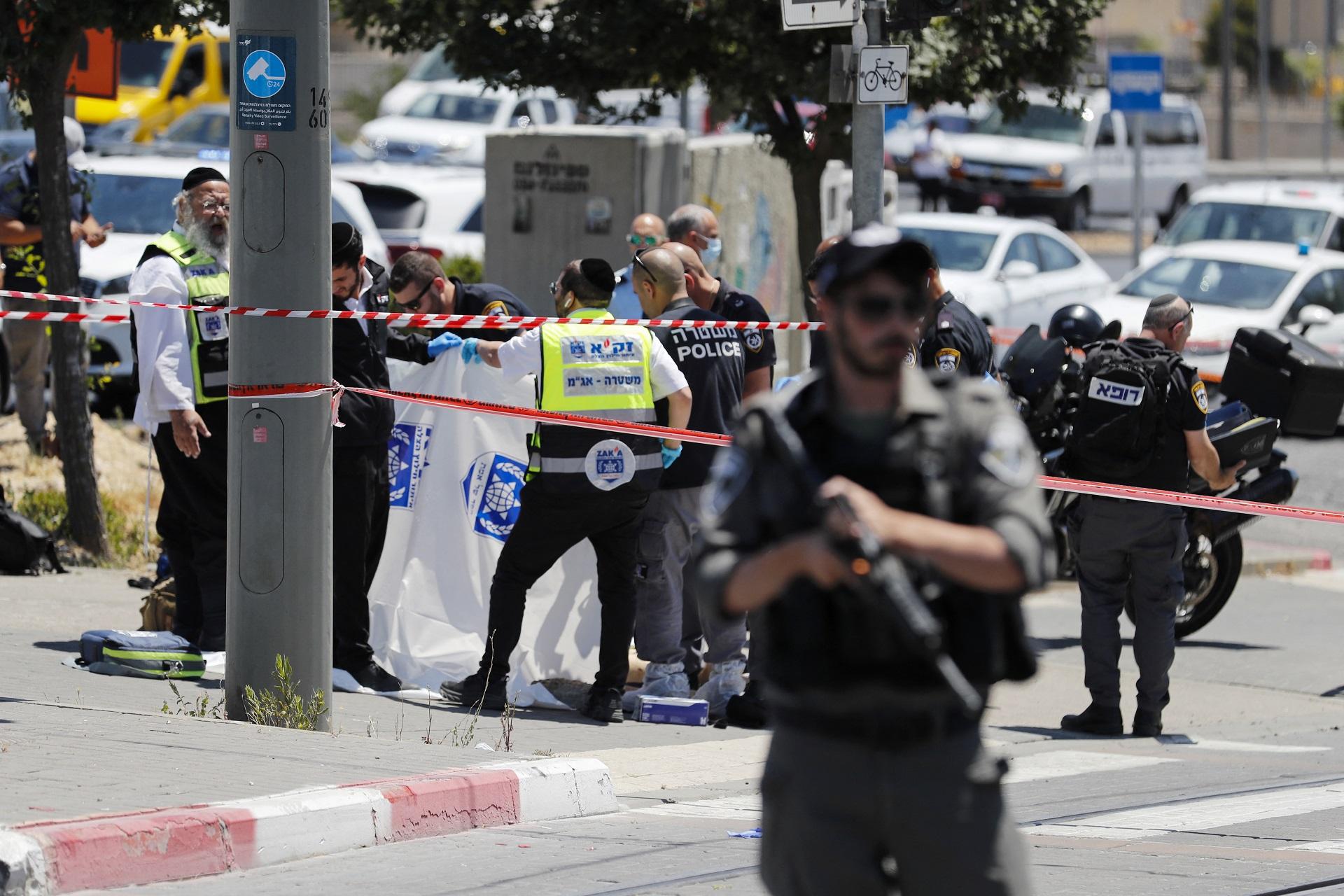 Ataque terrorista en Jerusalén