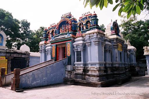 Dharmapuri Temple - Mallikarjuneswarar Kamakshi Amman temple - Kottai Koil