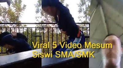 Viral 5 Video Syur Siswi SMA/SMK di Media Sosial