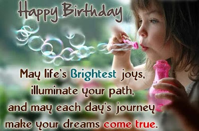 Happy Birthday Wises Cards For friends: may life's birthday joy's,