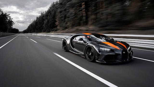 Bugatti Chiron 490km/h Hız ile Yeni Dünya Rekoru