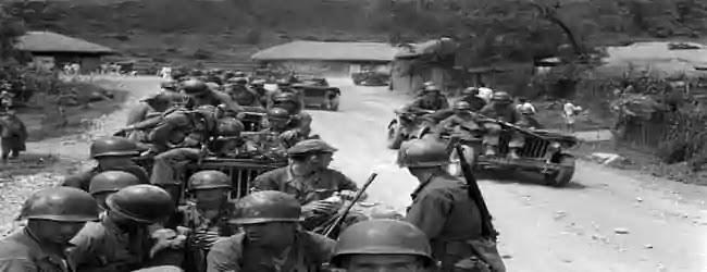 উত্তর কোরিয়া ও দক্ষিণ কোরিয়া যুদ্ধ, ১৯৫০