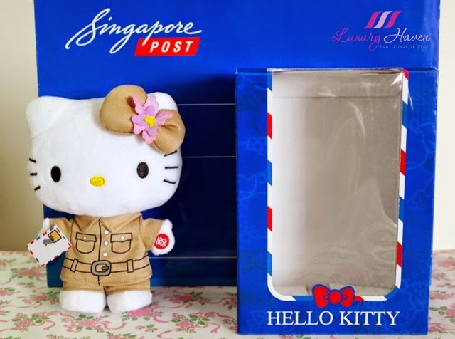 singpost sg50 hello kitty plush collectibles postman