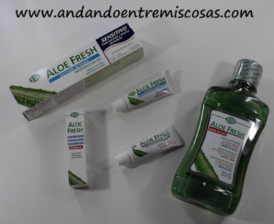 Pack de productos de higiene bucal