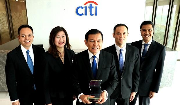 Citi Indonesia Raih Penghargaan Internasional