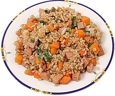 recipe of rice with fenugreek and carrot