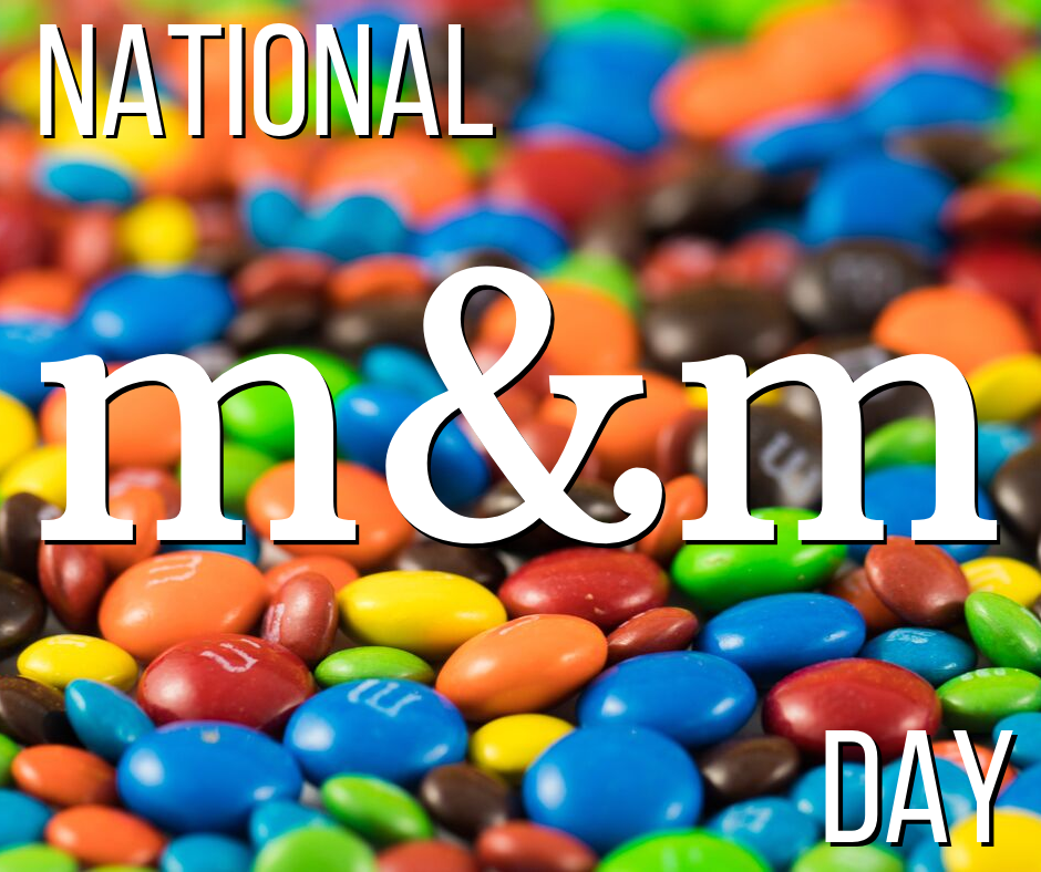 National M&M Day Wishes Beautiful Image