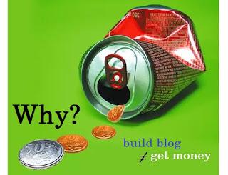 Alasan Kenapa Blog Tidak Bisa Menghasilkan Uang