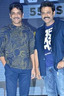 Akkineni Nagarjuna Latest HD Images with Venkatesh
