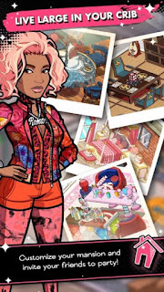 NICKI MINAJ: THE EMPIRE Apk v1.2.0 Mod (Cash/Enegry/Crown)