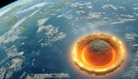 This Is What Would Happen If A Large Asteroid Where To Smash Into Earth