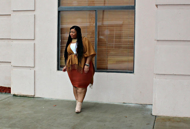 Fall Color Blocking with Faith