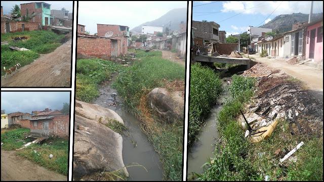 Fotos da Rua Pedro Gomes, bairro Maria Tereza, Panelas-PE