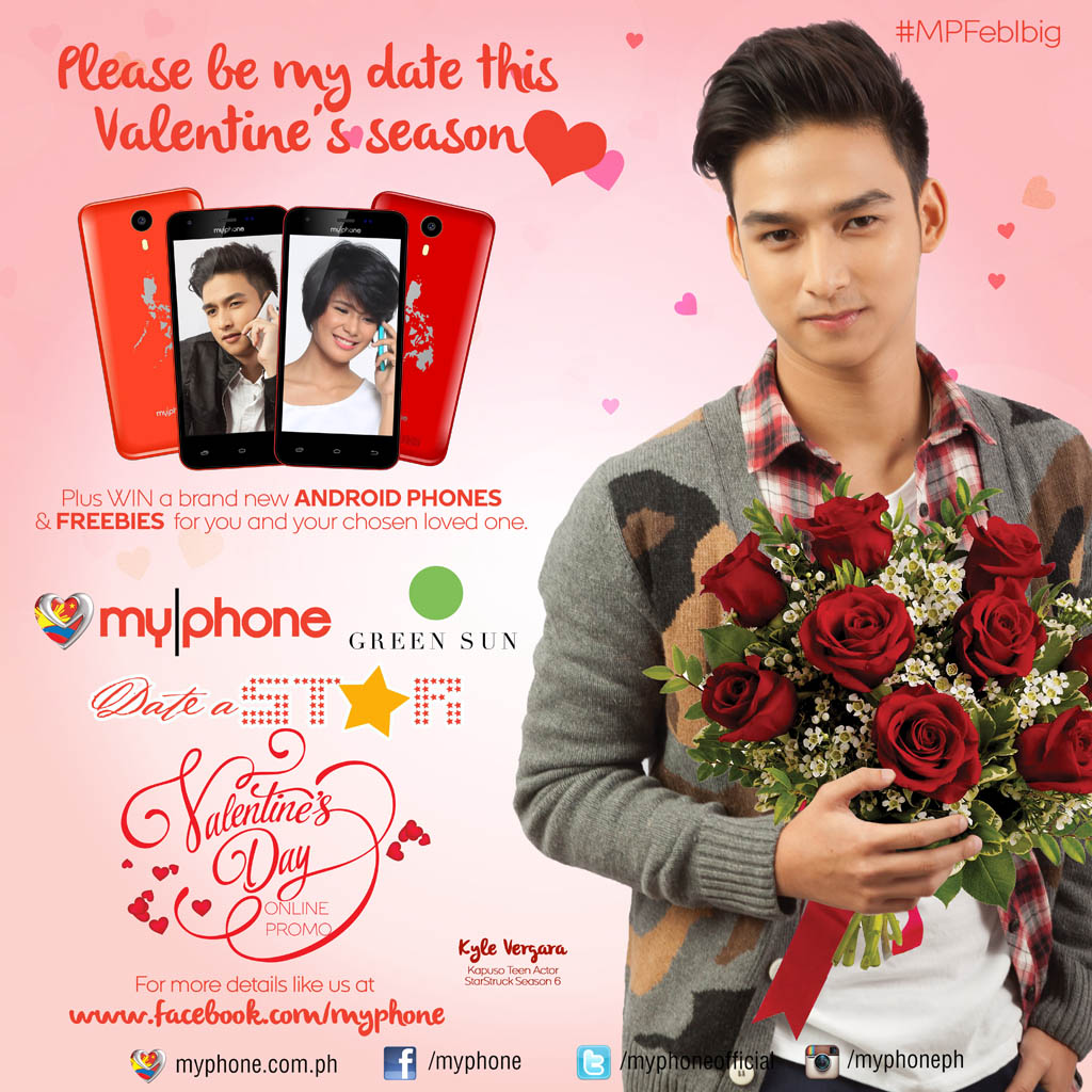 Win a date with your favorite MyPhone Stars this Valentine's Season