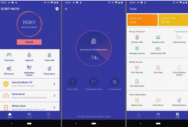 4+ Aplikasi Antivirus Gratis Terbaik untuk Ponsel Android 3