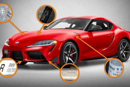 Ini Bukti Bahwa Toyota GR Supra  Semua Komponennya Memakai Part BMW