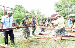 Program TNI Manunggal Membangun Desa Sejalan Dengan Visi Pemerintah, Terwujudnya Indonesia Berdaulat