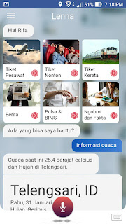 Download Lenna Asisten Pintar v1.0.0 APK Berbasis Artificial Intelligence