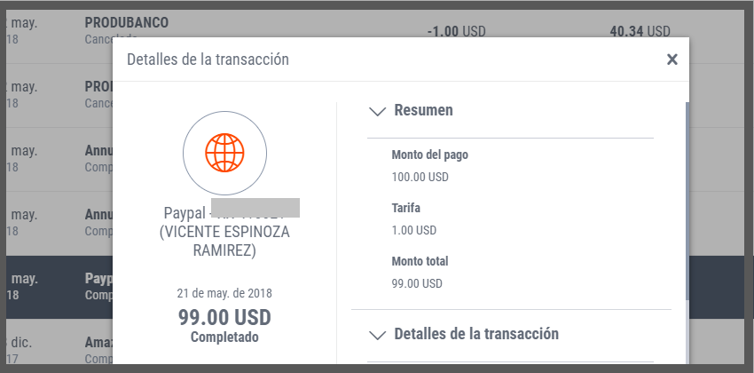 Payoneer comisiones PayPal
