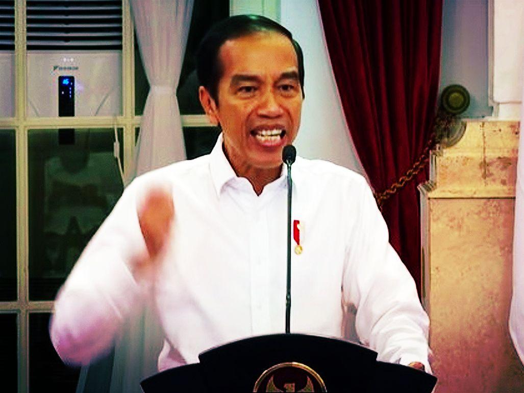 Ngeri! Begini Kalau Jokowi Sedang Ngamuk: Rahangnya Mengeras, Matanya Memerah!