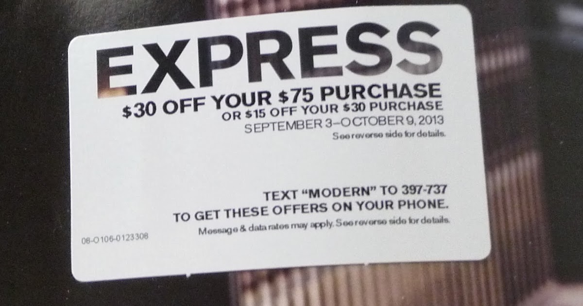 Are Your Express Coupon Codes Not Working On The Daily