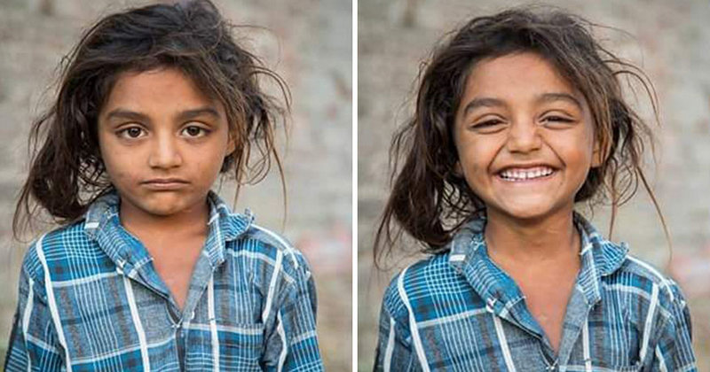 Smiles can change the whole day not only for the one who smiles, but also for those who see the smile.