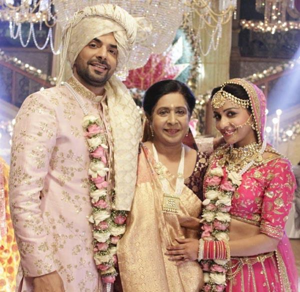 Kiran Bhargava with Manit Joura and Chhavi Pandey