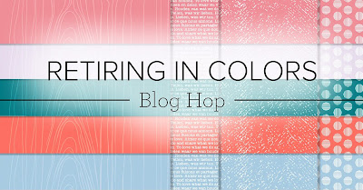 Crafty Collaborations Retiring In Colors Blog Hop Banner | Nature's INKspirations by Angie McKenzie